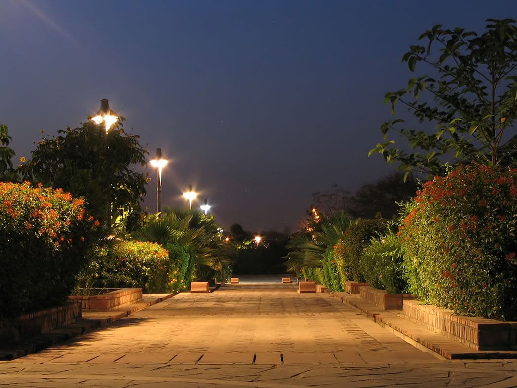 garden of five senses entry fee visit timings things to do more