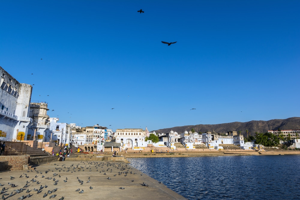 Ghats and Old City of Pushkar, Pushkar