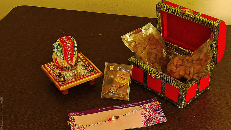 "Raksha Bandhan- Rakhi or ""Bond of Protection"""