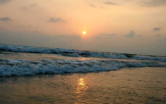 sunset-at-papanasam-beach