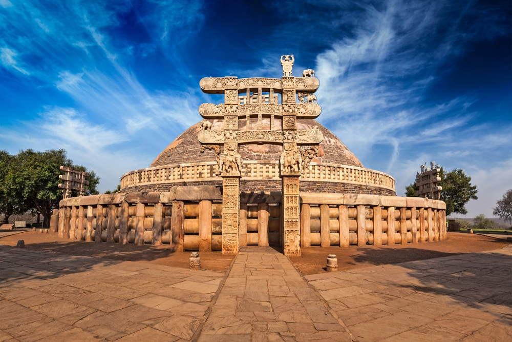 The Great Stupa, Sanchi