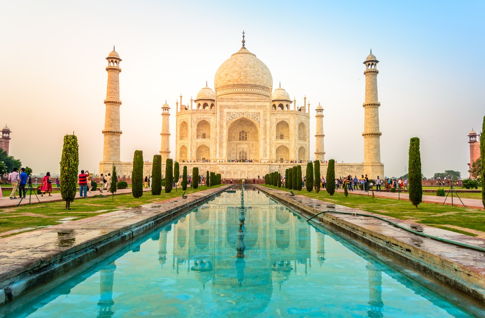 The Name Taj Mahal Translates To Crown Palace And Is One Of Most Famous Marvelous Buildings In India Located City Agra
