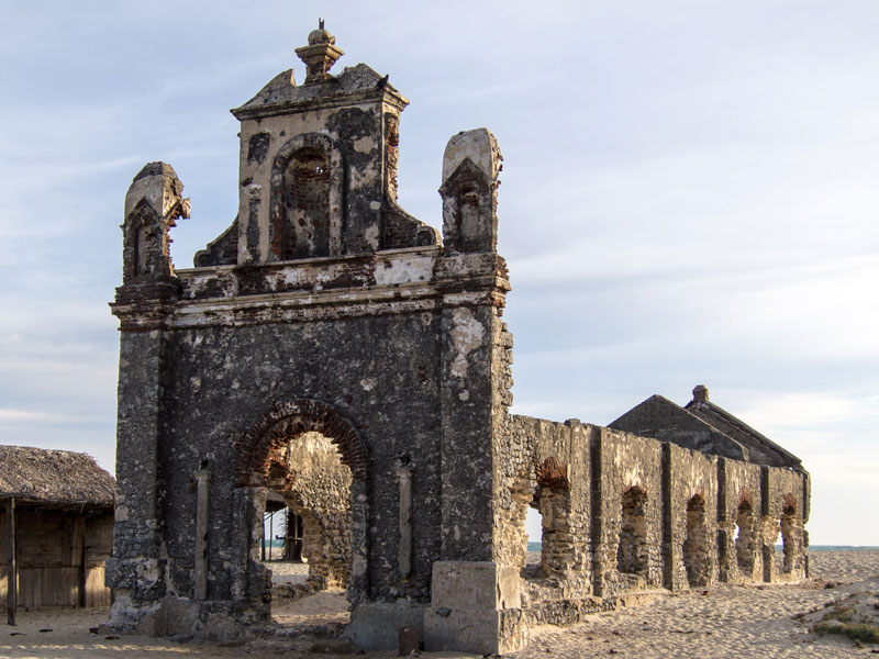 Dhanushkodi Ruined Church