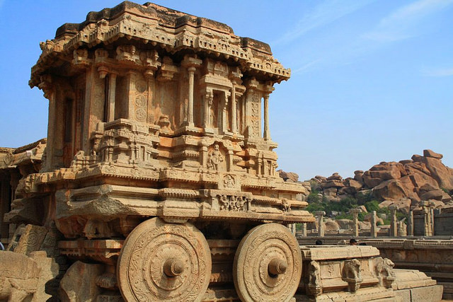 The best time to visit hampi trans india travels for Archaeological monuments in india mural paintings