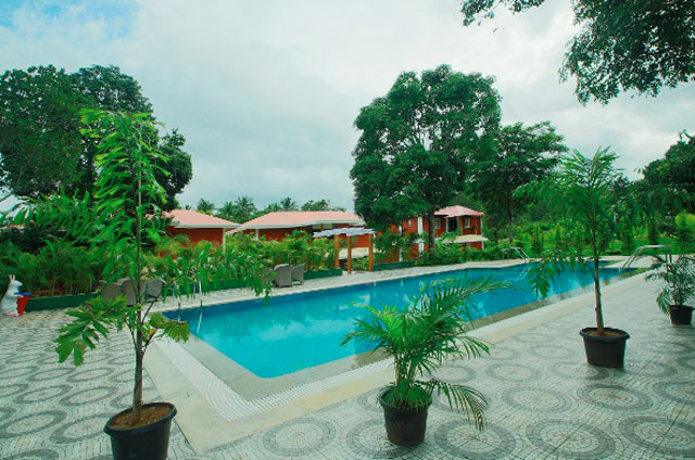 Top 10 resorts in kabini trans india travels for Resorts in bandipur with swimming pool