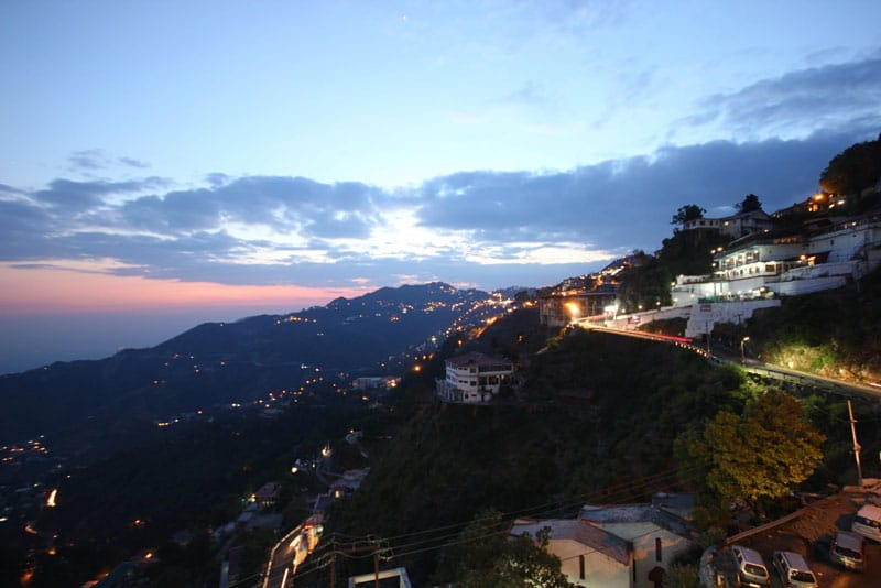 Mussoorie at Night