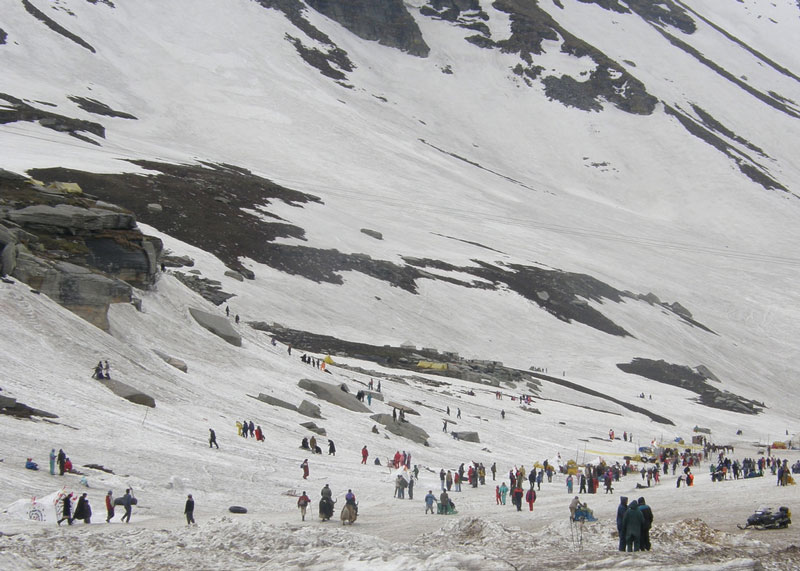 Rohtang Pass India