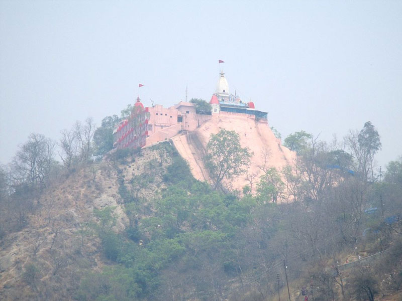 Temple at Distance